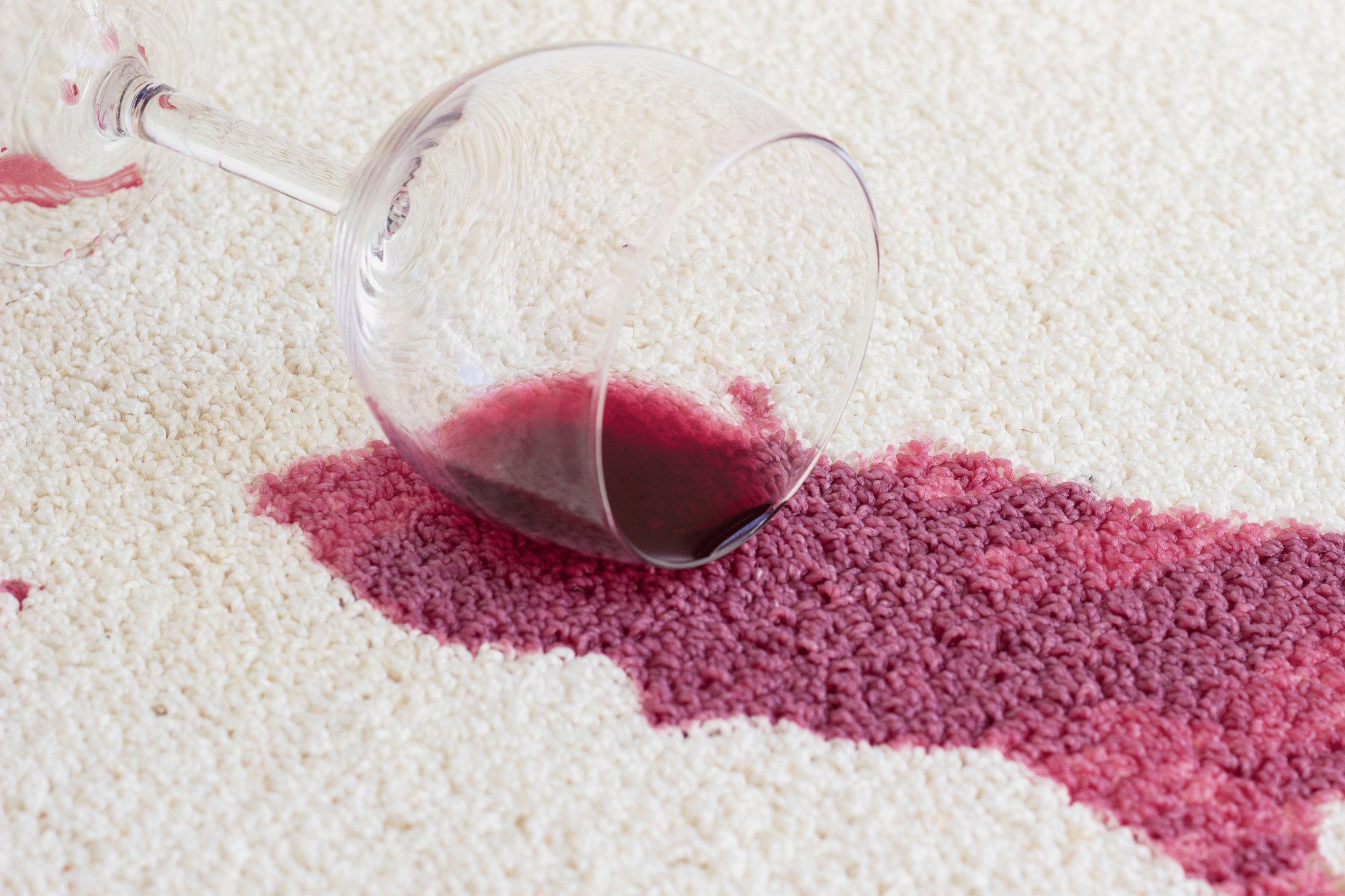 Help! I've spilled red wine on my carpet, what do I do?